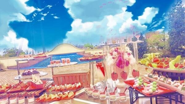 【大人気デザートビュッフェ☆】ロケーションバッチリな信濃川沿いガーデンで甘~いひと時を☆