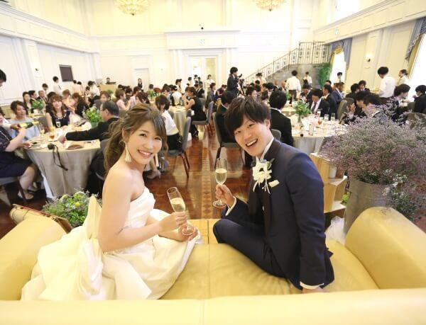 新潟市 結婚式場 ピアザララルーチェ 高砂 メイン フォトジェニック