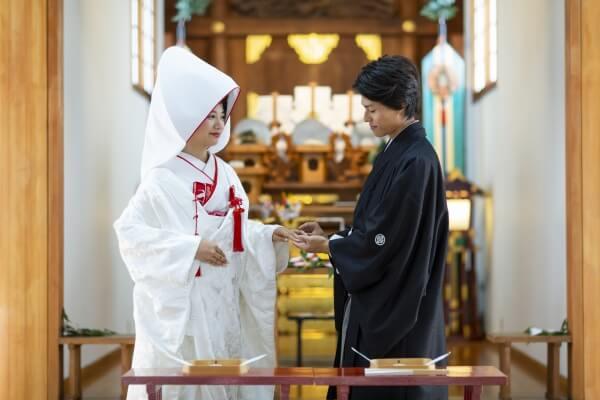 和婚も叶うララルーチェ☆和装を着たい新郎新婦様必見☆