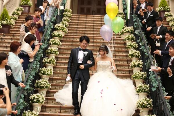 大階段 バルーン