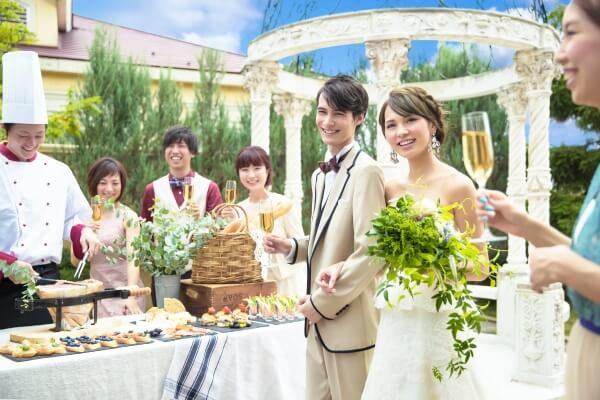 大切な人とご結婚式を楽しむ新プラン♪【二部制ウエディング新登場】